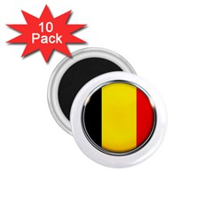 Belgium Flag Country Brussels 1 75  Magnets (10 Pack)  by Nexatart