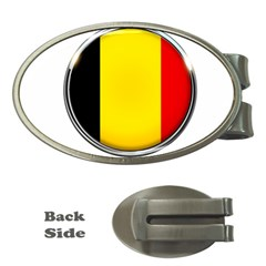 Belgium Flag Country Brussels Money Clips (oval)  by Nexatart