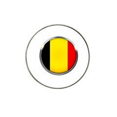 Belgium Flag Country Brussels Hat Clip Ball Marker (4 Pack) by Nexatart