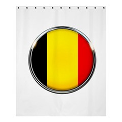 Belgium Flag Country Brussels Shower Curtain 60  X 72  (medium)
