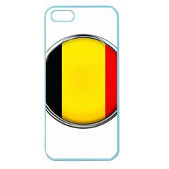 Belgium Flag Country Brussels Apple Seamless Iphone 5 Case (color)