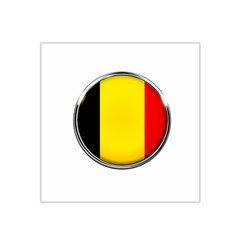 Belgium Flag Country Brussels Satin Bandana Scarf by Nexatart