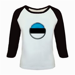 Estonia Country Flag Countries Kids Baseball Jerseys