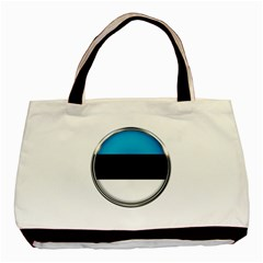 Estonia Country Flag Countries Basic Tote Bag