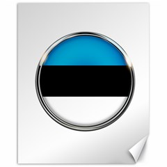 Estonia Country Flag Countries Canvas 16  X 20
