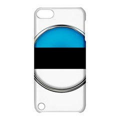 Estonia Country Flag Countries Apple Ipod Touch 5 Hardshell Case With Stand by Nexatart