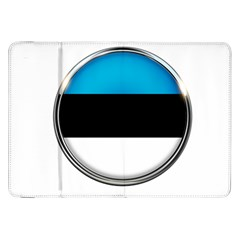 Estonia Country Flag Countries Samsung Galaxy Tab 8 9  P7300 Flip Case by Nexatart