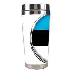 Estonia Country Flag Countries Stainless Steel Travel Tumblers by Nexatart