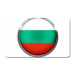 Bulgaria Country Nation Nationality Magnet (rectangular) by Nexatart
