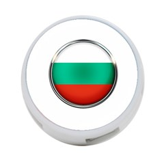 Bulgaria Country Nation Nationality 4-port Usb Hub (one Side)