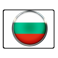 Bulgaria Country Nation Nationality Fleece Blanket (small) by Nexatart