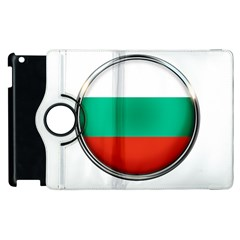 Bulgaria Country Nation Nationality Apple Ipad 3/4 Flip 360 Case