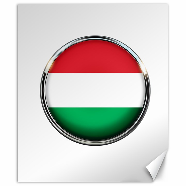 Hungary Flag Country Countries Canvas 20  x 24