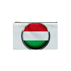 Hungary Flag Country Countries Cosmetic Bag (small)  by Nexatart