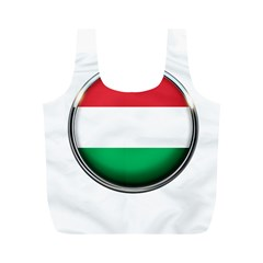 Hungary Flag Country Countries Full Print Recycle Bags (m)  by Nexatart