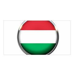 Hungary Flag Country Countries Satin Shawl by Nexatart