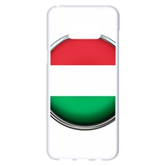 Hungary Flag Country Countries Samsung Galaxy S8 Plus White Seamless Case