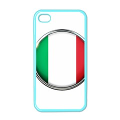 Italy Country Nation Flag Apple Iphone 4 Case (color) by Nexatart