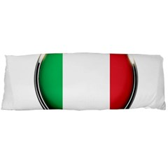 Italy Country Nation Flag Body Pillow Case Dakimakura (two Sides) by Nexatart