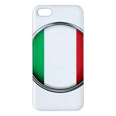 Italy Country Nation Flag Apple Iphone 5 Premium Hardshell Case