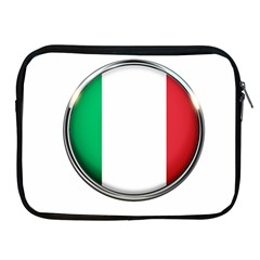 Italy Country Nation Flag Apple Ipad 2/3/4 Zipper Cases
