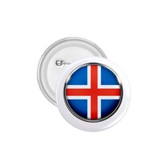 Iceland Flag Europe National 1 75  Buttons by Nexatart