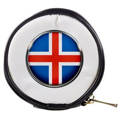 Iceland Flag Europe National Mini Makeup Bags by Nexatart