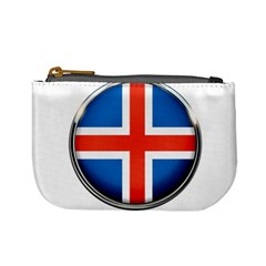 Iceland Flag Europe National Mini Coin Purses by Nexatart