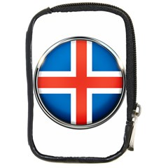Iceland Flag Europe National Compact Camera Cases by Nexatart