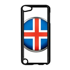 Iceland Flag Europe National Apple Ipod Touch 5 Case (black) by Nexatart