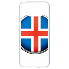 Iceland Flag Europe National Samsung Galaxy S8 White Seamless Case