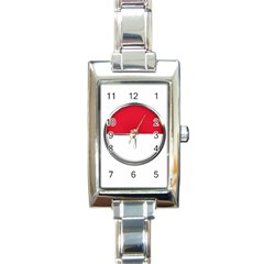 Monaco Or Indonesia Country Nation Nationality Rectangle Italian Charm Watch