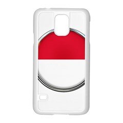 Monaco Or Indonesia Country Nation Nationality Samsung Galaxy S5 Case (white)