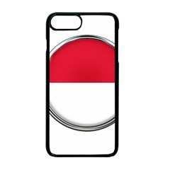 Monaco Or Indonesia Country Nation Nationality Apple Iphone 7 Plus Seamless Case (black) by Nexatart
