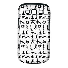 Yoga Pattern Samsung Galaxy S Iii Classic Hardshell Case (pc+silicone) by Valentinaart