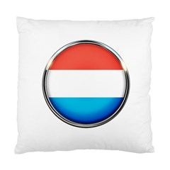 Luxembourg Nation Country Red Standard Cushion Case (one Side)