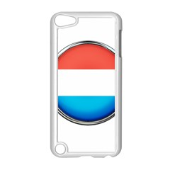 Luxembourg Nation Country Red Apple Ipod Touch 5 Case (white)