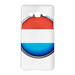 Luxembourg Nation Country Red Samsung Galaxy A5 Hardshell Case  by Nexatart