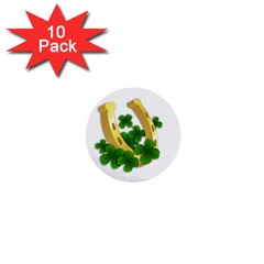 St  Patricks Day  1  Mini Buttons (10 Pack)  by Valentinaart