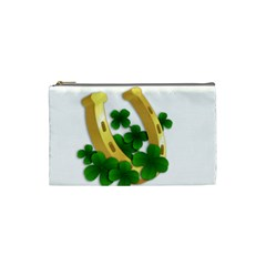 St  Patricks Day  Cosmetic Bag (small)  by Valentinaart