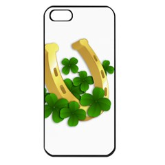 St  Patricks Day  Apple Iphone 5 Seamless Case (black)