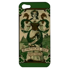 St  Patricks Day  Apple Iphone 5 Hardshell Case by Valentinaart