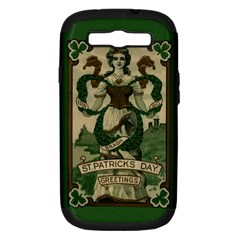 St  Patricks Day  Samsung Galaxy S Iii Hardshell Case (pc+silicone) by Valentinaart