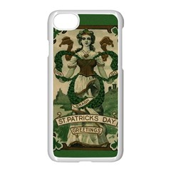 St  Patricks Day  Apple Iphone 8 Seamless Case (white) by Valentinaart