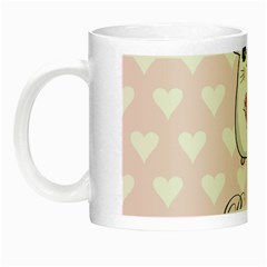 Cute Mouse   Valentines Day Night Luminous Mugs by Valentinaart