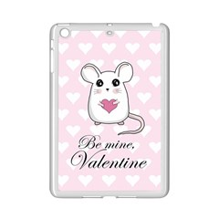 Cute Mouse   Valentines Day Ipad Mini 2 Enamel Coated Cases by Valentinaart