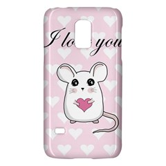 Cute Mouse   Valentines Day Galaxy S5 Mini