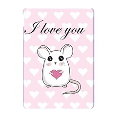 Cute Mouse   Valentines Day Apple Ipad Pro 10 5   Hardshell Case by Valentinaart