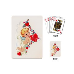 Cupid   Vintage Playing Cards (mini)  by Valentinaart
