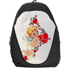 Cupid   Vintage Backpack Bag by Valentinaart
